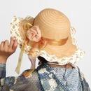 앨리스 리본 패션 모자(여성용) 여름모자 모자 여행용
