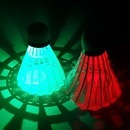 LED셔틀콕 야광 배드민턴공 깃털콕 야간 운동 셔틀콕