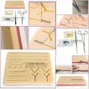 suture set 슈처 연습 세트 실리콘 모형 홀더 포셉
